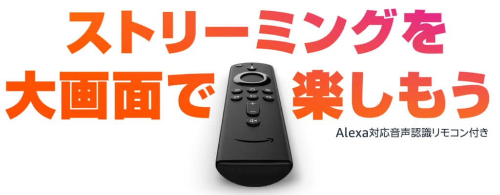 Amazon Fire TV Stick画像