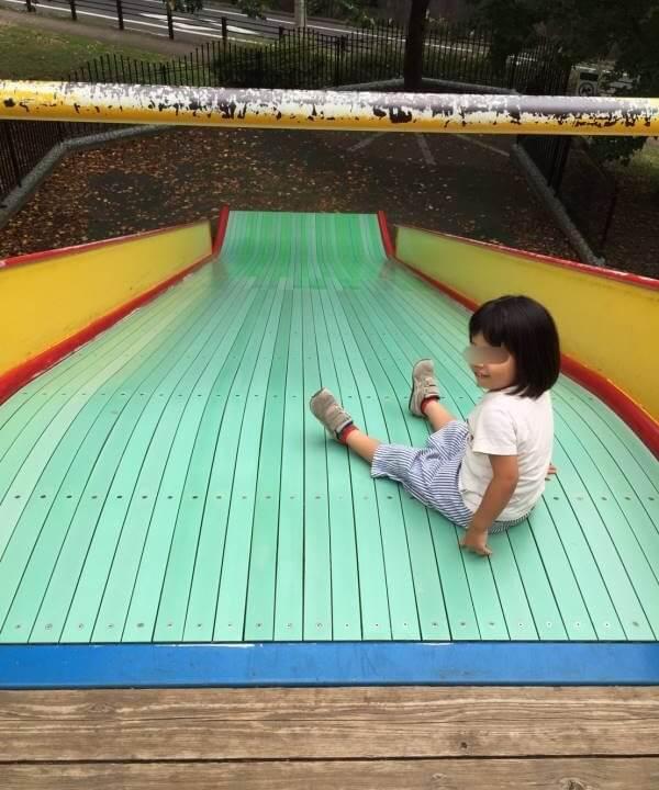ワンパク広場の大きな滑り台2