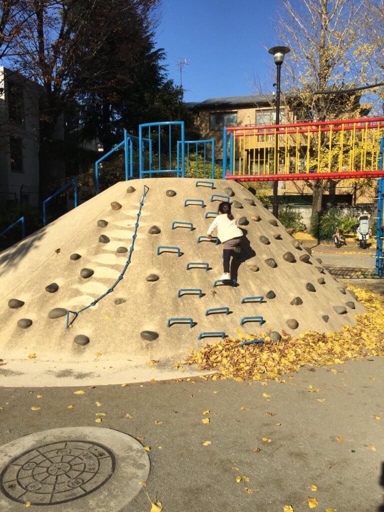 高円寺南公園の滑り台