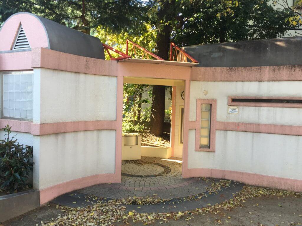 高円寺南公園のトイレ