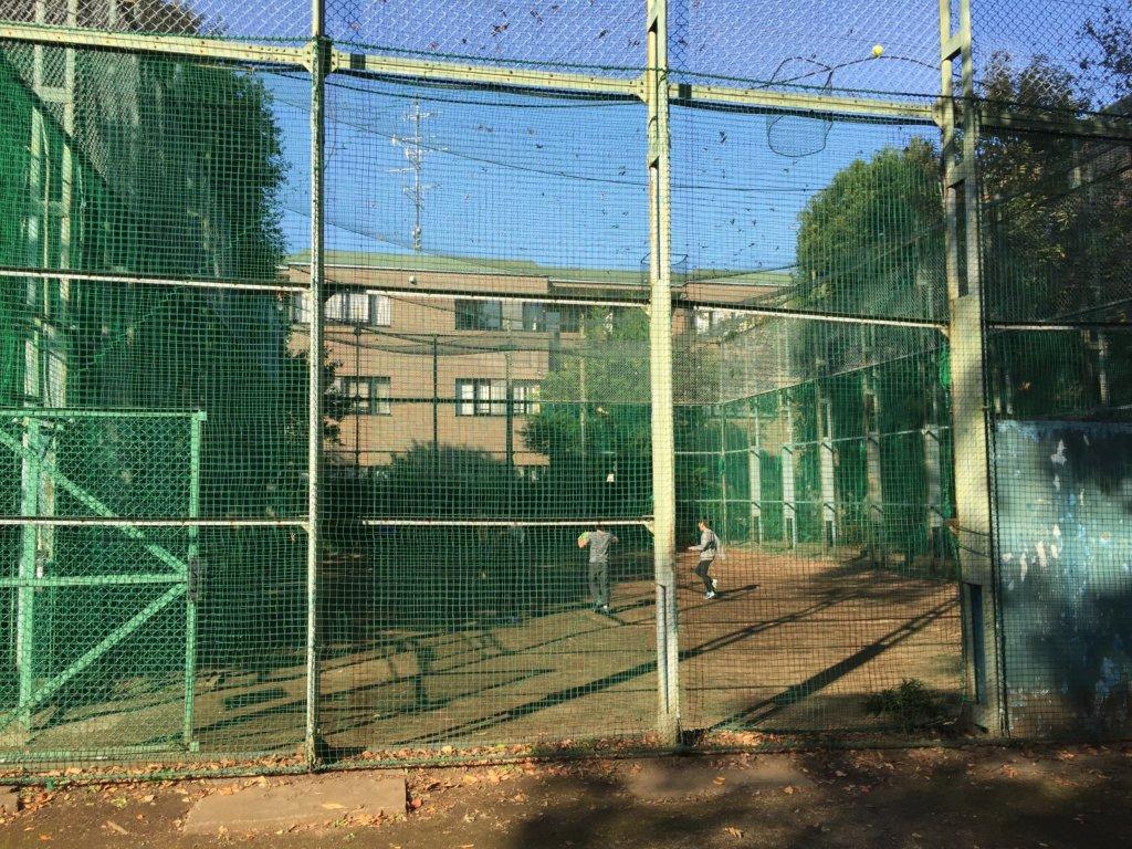 阿佐ヶ谷にしはら公園のボール遊び場