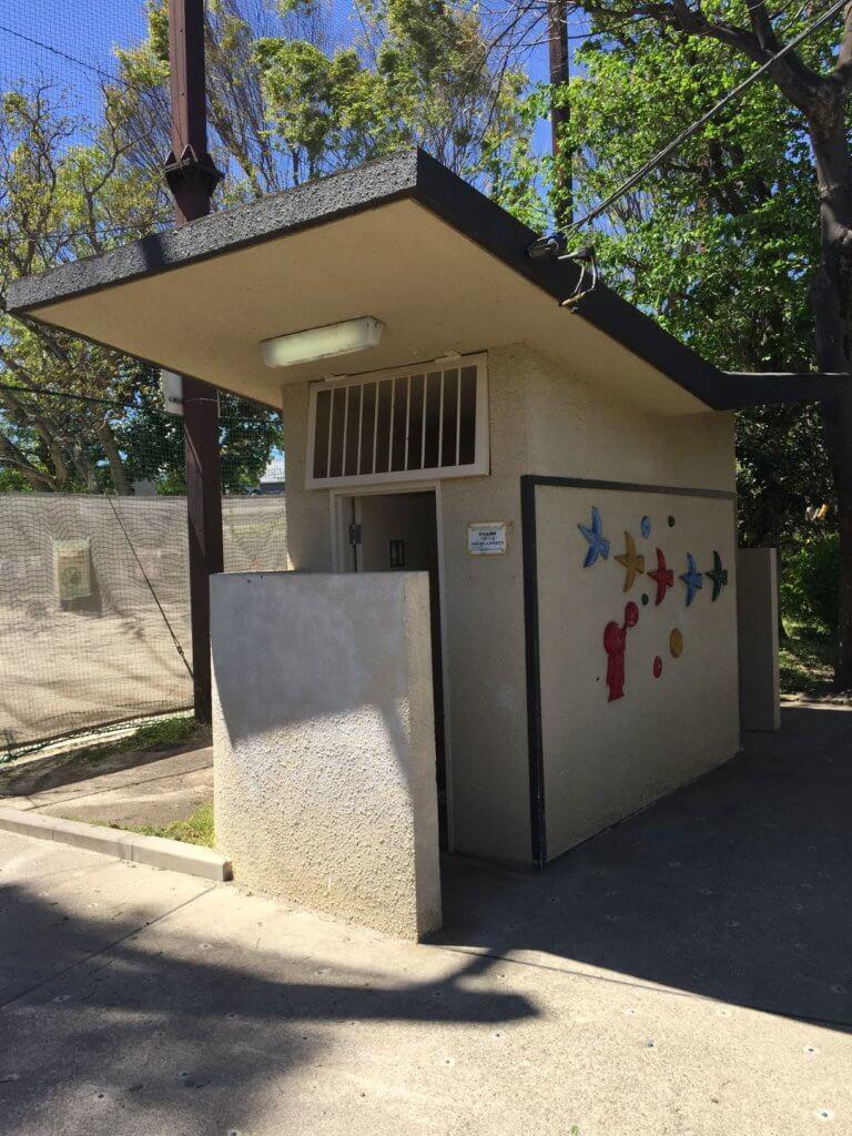 阿佐谷東公園のトイレ