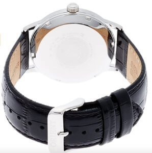 オリエント時計のバンビーノベルト拡大画像