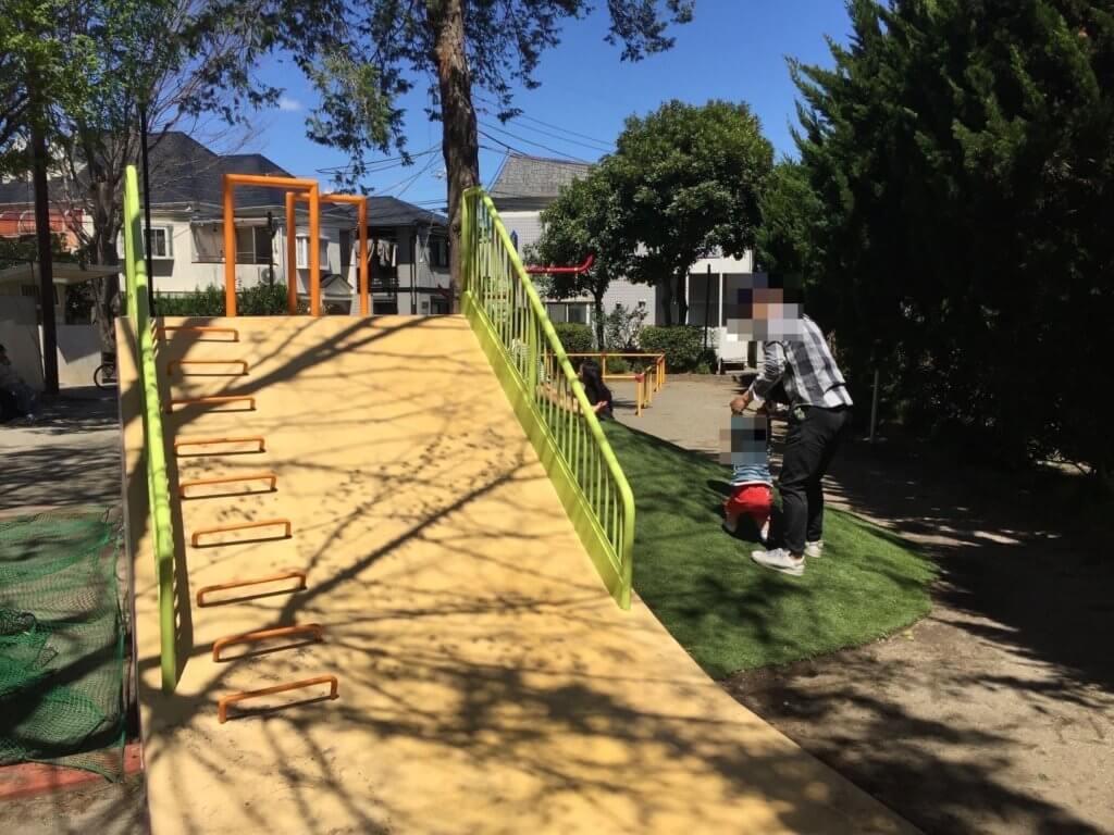 阿佐谷東公園の滑り台