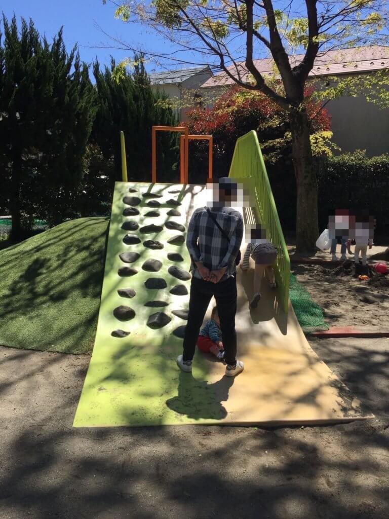 阿佐谷東公園の滑り台その2