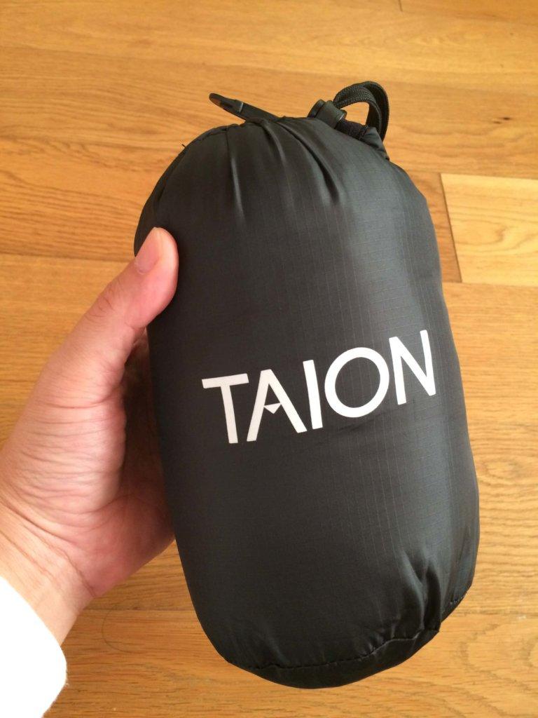 taion収納バッグに入れたところ