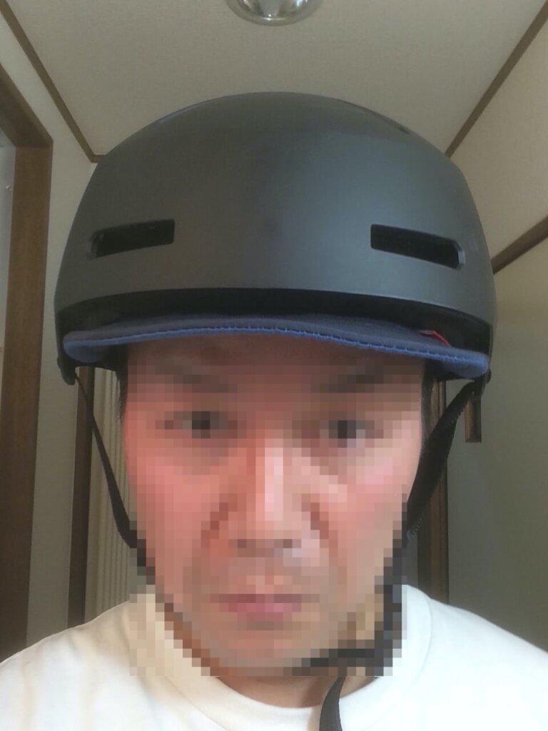 bernヘルメット着用正面